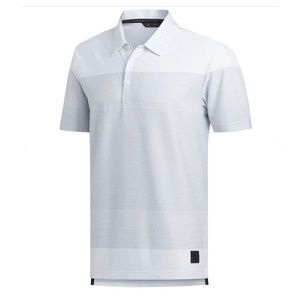 Adidas Adicross Men's Golf Polo Short Sleeve Shirt in Sz XL Stiped Green & White